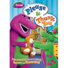 New Barney DVD: Please & Thank You (Giveaway)
