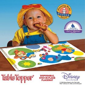 Mom Must Have Disposable Placemats For Babies Toddlers