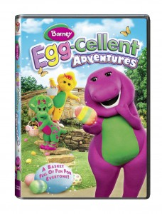 Barney: Egg-Cellent Adventures (Giveaway)