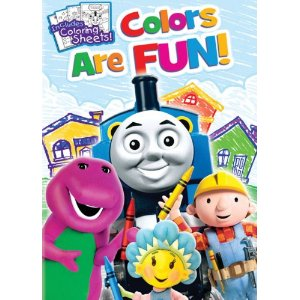 Colors are Fun DVD (Thomas, Bob, Fireman Sam & more) #Giveaway
