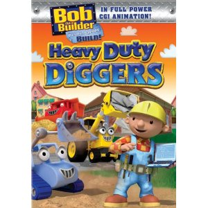 Bob the Builder: Heavy Duty Diggers DVD (Giveaway)