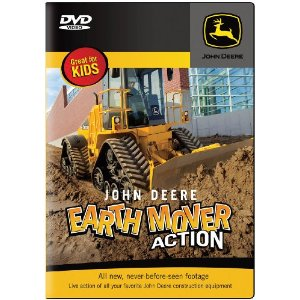 John Deere Earth Mover Action DVD for kids (Giveaway)