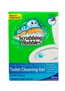 "Scrubbing Bubbles® Takes the ""Ick"" out of Toilet Cleaning (Giveaway)"
