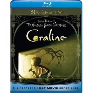 Coraline: Blu-Ray/DVD combo (just $9.99)