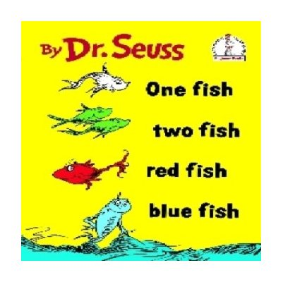 Pottery barn kids 50th b day event for dr seuss 39 one for One fish two fish red fish blue fish