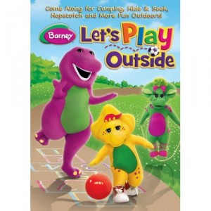 Barney's Let's Play Outside DVD (Giveaway-CLOSED)