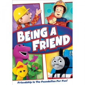 Being A Friend DVD (featuring Bob the Builder, Thomas, Barney & Fireman Sam) GIVEAWAY-CLOSED