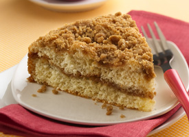 Bisquick Double Streusel Coffee Cake Recipe