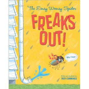 Fiction Friday: The Eensy Weensy Spider Freaks Out (BIG-TIME)