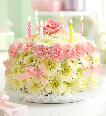 1800Flowerscom Birthday Cake Flower Arrangement 40 Gift Card