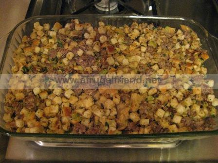 Homemade Thanksgiving Stuffing & the Memories Flooding In