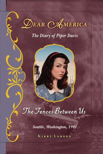 Fiction Friday: Dear America Series for kids, The Diary of Piper Davis