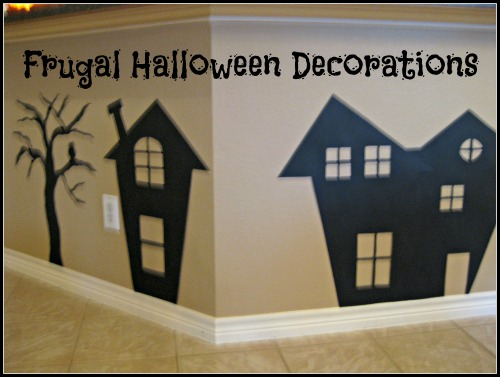 Frugal Halloween Decorations