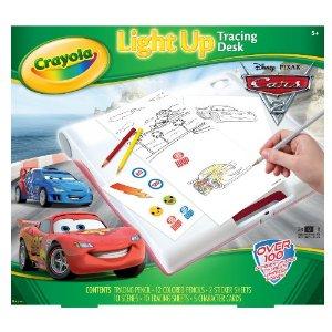 Crayola Cars 2 Light Up Tracing Desk Now 10 Reg 29 99