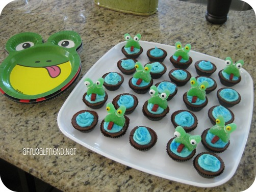 Feb 29th: Leap Day Fun w/Frog Brownie Bites or Cupcakes (Instructions)