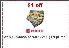 target 4x6 prints coupon