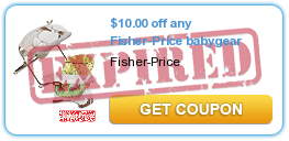 $10.00 off any Fisher-Price babygear