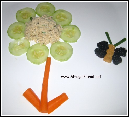 First Day of Spring: Food Fun Plate for Kids