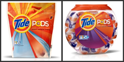 The New Tide Pods - Amazing Laundry Innovation! (Review/Giveaway ...