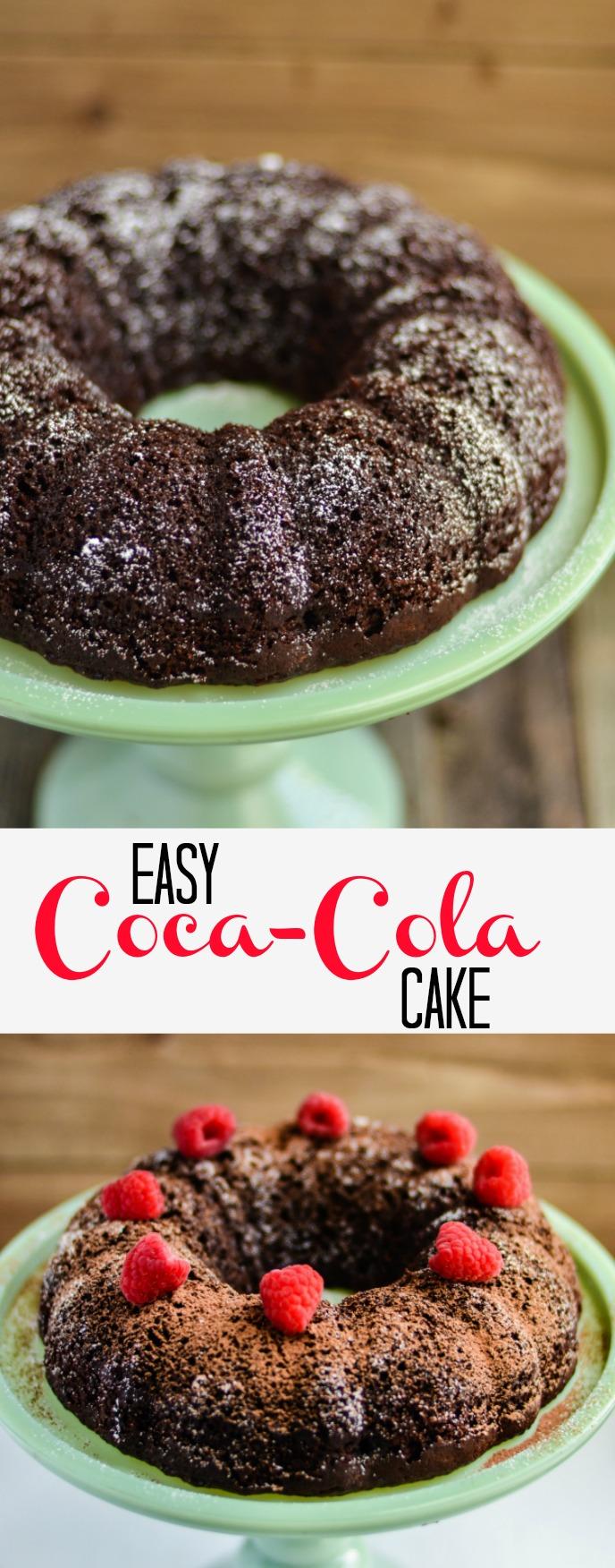 easy coca cola cake