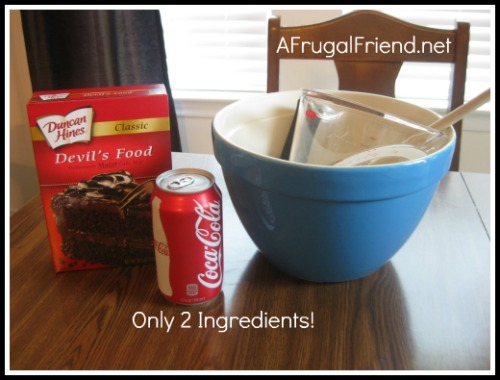 Coca Cola Cake Recipe Using Cake Mix