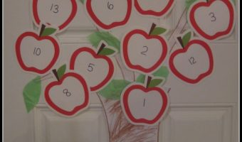 Back to School Countdown – Apple Tree (Tutorial)