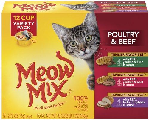 Meow mix cat food coupons