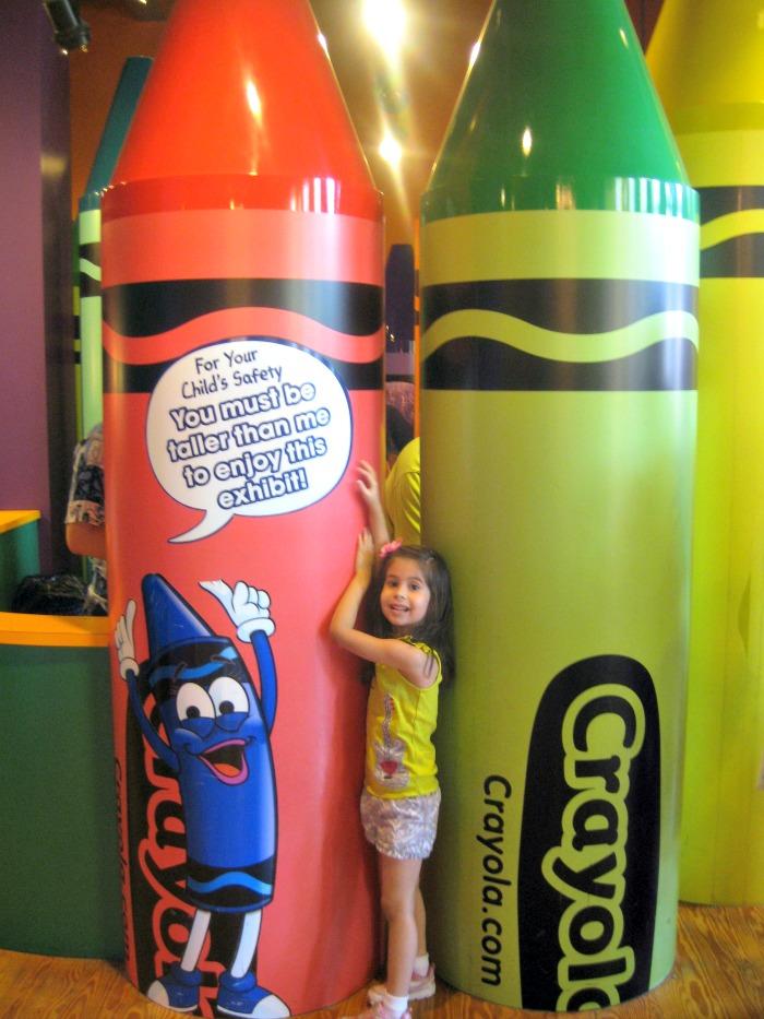 Crayola Factory Exhibit