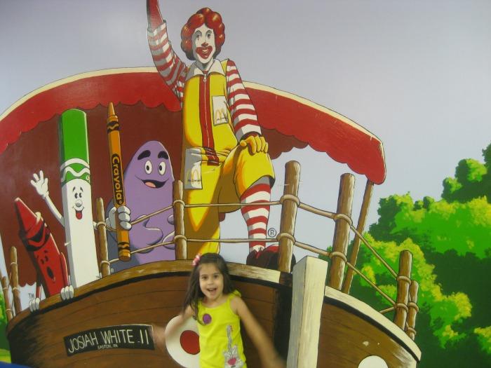 Crayola Factory McDonalds