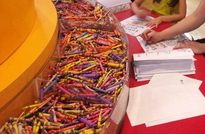 Crayola Factory coloring