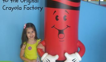 A visit to the original crayola factory