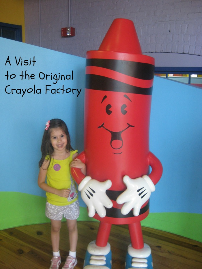 A visit to the original crayola factory