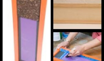 DIY – ScotchBlue Wall Organizer (Chalk & Cork Board too)