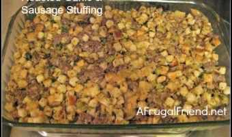 My Best Dish: Roasted Garlic & Sausage Stuffing