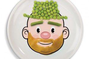 Fred & Friends Food Plates (Especially for those kids who don't like veggies)