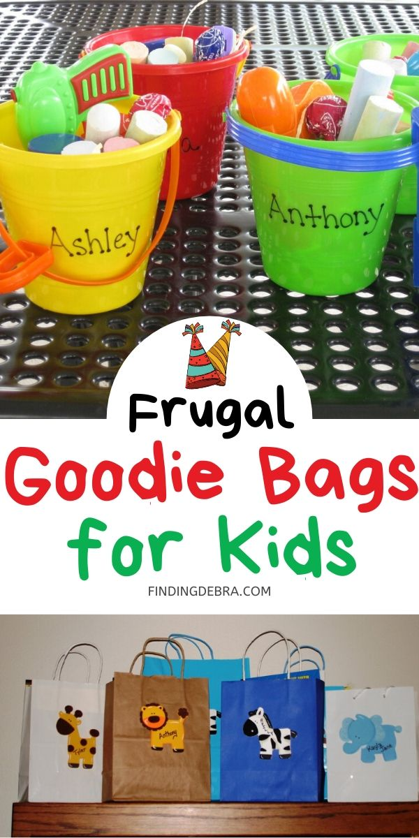 Frugal Goodie Bags for Kids