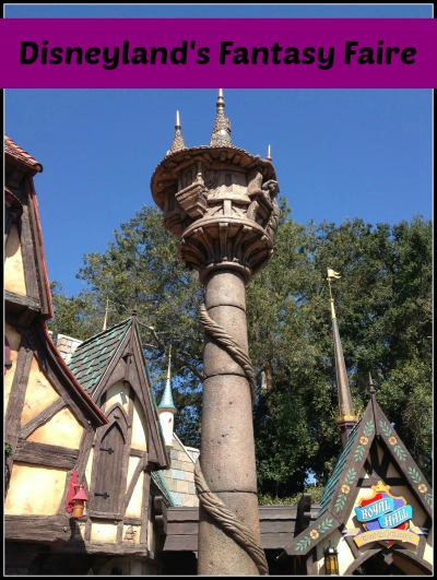 disneyland fantasy faire rapunzel tower
