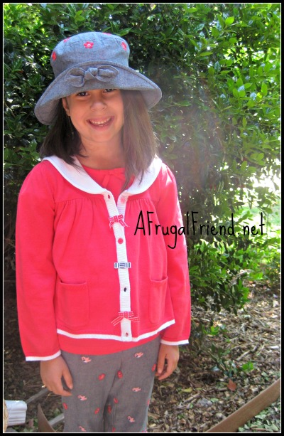 Gymboree salmon outfit