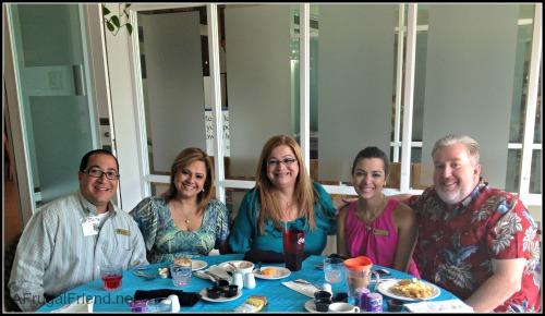 Embassy Suites Dorado Breakfast Staff