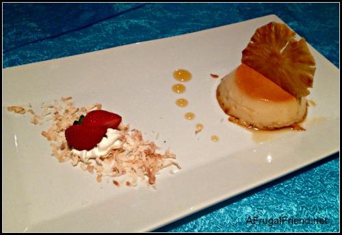 Embassy Suites Dorado Dessert