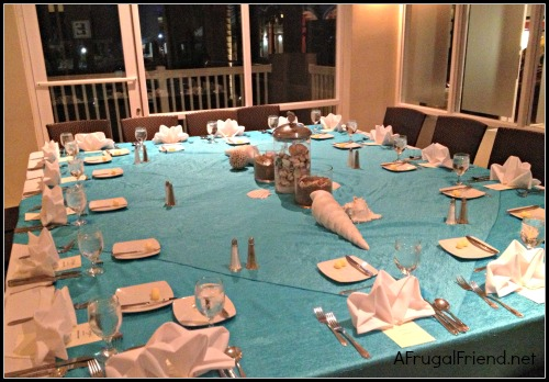Embassy Suites Dorado Dinner