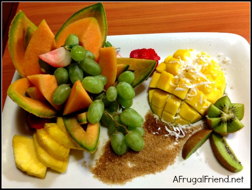 Embassy Suites Dorado Fruit Plate