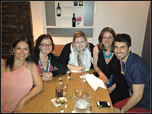 Puerto Rico Grappa Dinner Group Photo