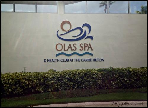 Puerto Rico Olas Spa at Caribe Hilton