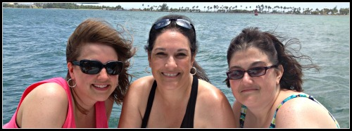 Puerto Rico Sailboat Girls