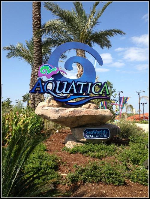 SeaWorld Aquatica Entrance