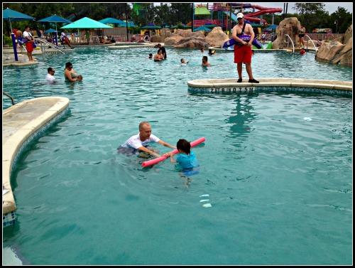 SeaWorld Aquatica Swim Lessons Area