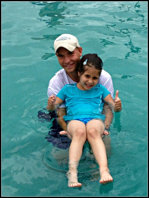 SeaWorld Aquatica Swim Lessons Gaining Confidence