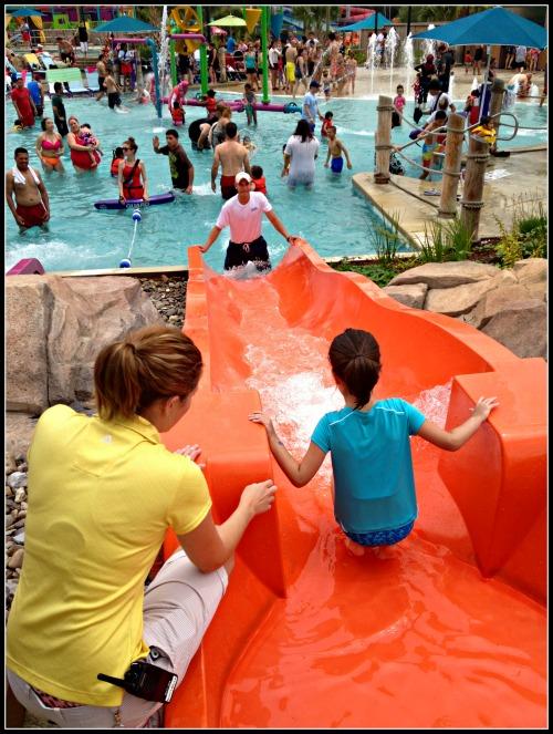SeaWorld Aquatica Swim Lessons Slide