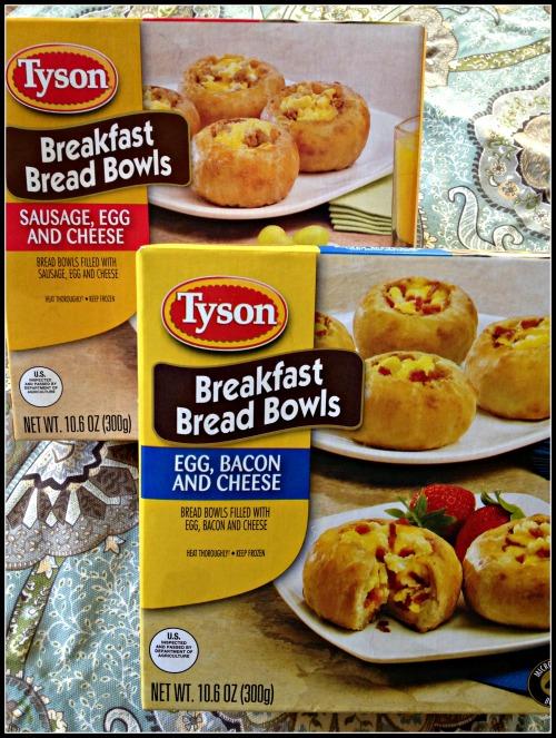 Tyson Breakfast Bread Bowls